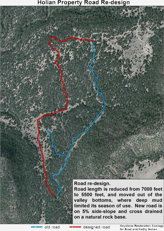 Road Drainage by Keystone Restoration Ecology